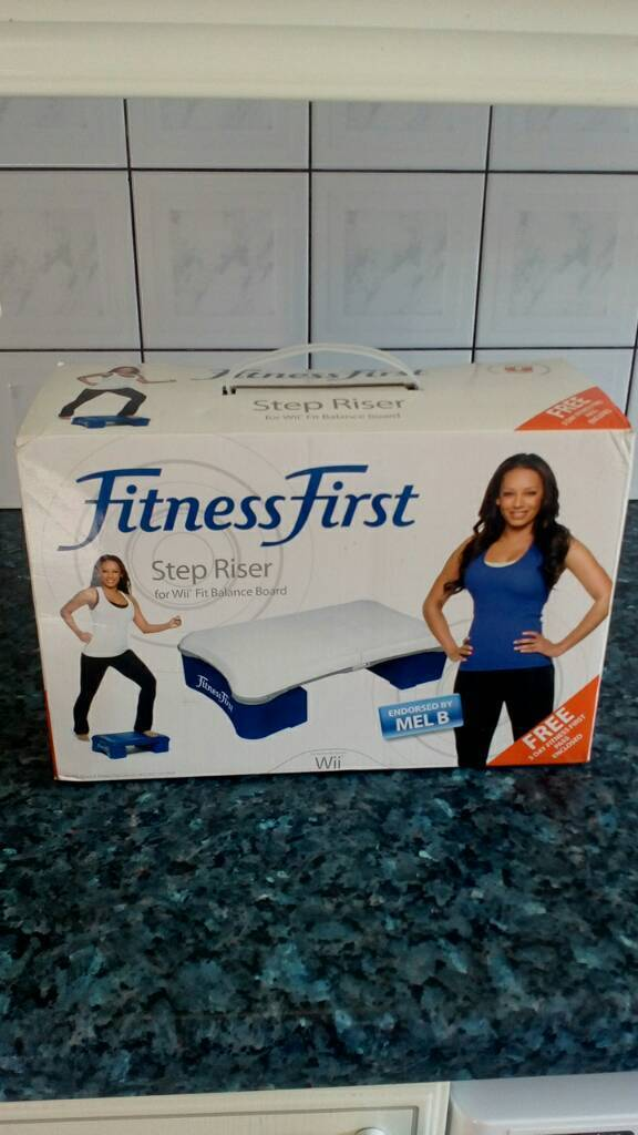 Fitness first stepperin Longsight, ManchesterGumtree - Fitness first step can be used with Wii £5