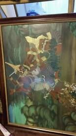 Varied thai art. With frames