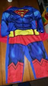 Superman fancy dress costume