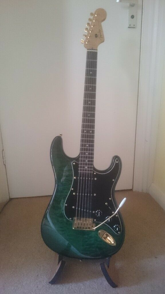 Warmoth stratocaster with blend system SWEET guitar   offers welcome (  FENDER ) | in Kilburn, London | Gumtree