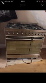 Smeg range cooker. Excellent condition.