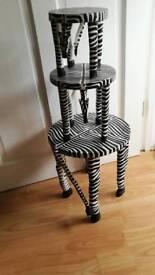 Zebra stalls