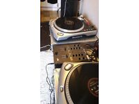 2 Numark TT200 Direct Drive Turntables For Sale