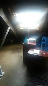 Attic room to rent