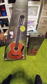 Brand New Guitar , Brand Sheffield , Hand Made , High Quality , Lime Wood Body ,Cover.