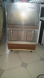 Used gas heater with calor cylinder