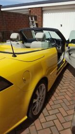 Fantastic canary yellow Saab 93 1.8 petrol turbo