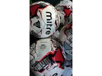 Joblot of 5 Brand New Mitre Vandis Size 4 International Standard Footballs