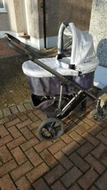 Uppababy Vista Pram and pushchair