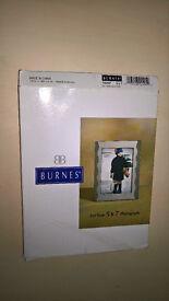 Burnes 5 x 7 Millenium Wave Photograph Frame