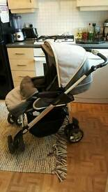 silver cross linear freeway pushchair