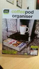 Coffee pod organiser
