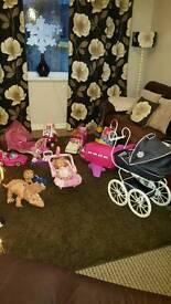 Lots of toys ideal Xmas pressies bargain...