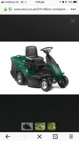 Atco Ride-on lawnmower