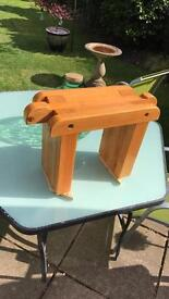 Hand crafted Stool