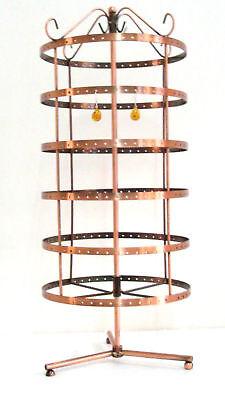 288 Holes Rotating Earrings Display Stand Rack Holder