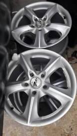 Alloys. Toyota honda 16inch