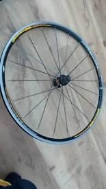 Mavic ksyrium rear wheel 700c Shimano hub road bike