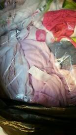 Huge amount of girls clothes aged 0 to 12 months