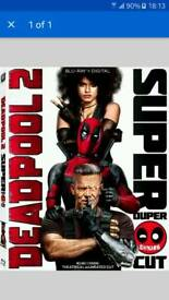 Deadpool 2 super duper cut full retail blu-ray ( COPY)