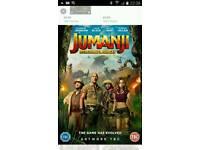 JUMANJI DVD FILM
