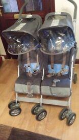 Maclaren twin techno buggy