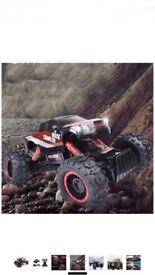 SZJJX RC Cars Rock Off-Road Racing Vehicle Climber Truck 2.4Ghz 4WD High Speed 1:14 Radio