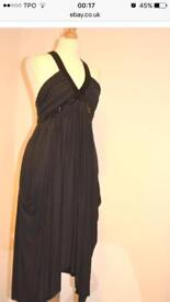 All Saints black dress size 6