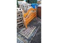 Old bed frame - good for outdoor project