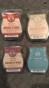 Four New scentsy waxes