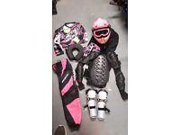 Kids motox / motocross gear