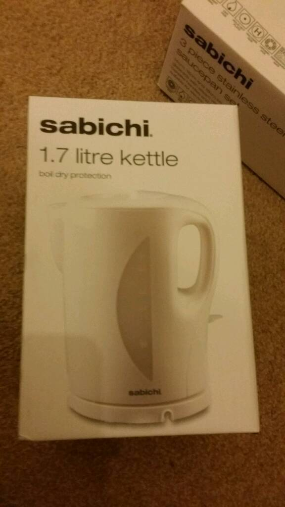Unopened kettle for sale