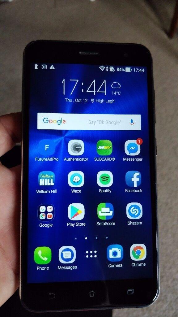 Asus Zenfone 3 4GB RAM 64GB Memory Unlocked SAPPHIRE BLACK