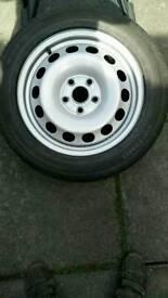 Volkswagen wheel with tyre 205/55/16