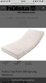 Hulsta super king mattress