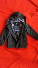 M & S DUFFLE COAT FOR KIDS AGED 4 - 5 YEARS (58CM)