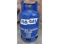 Full 13KG Butane Gas Bottle, Flogas Gas Bottle, Cabinet Heater, Gas Bottle, Heating Gas Bottle
