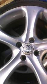 4alloy wheels. Mazda