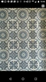 Tile effect lino 1m X 1.5m