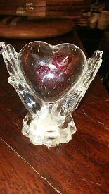 Glass Ornament - heart i love you romantic valentines