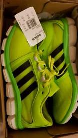 Adidas running trainers shoes size 9.5