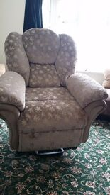SHERBOURNE RISER/RECLINER ARMCHAIR