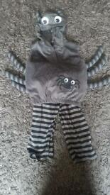 Halloween kids spider costume