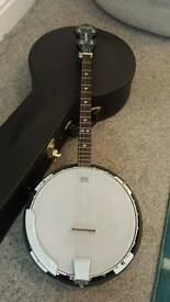 Banjo Tanglewood Union Series 4 String Tenor Banjo