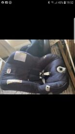 1 x iso fix car seat + 1 normal britx car seat