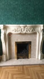 Onyx Fireplace, Hearth and Gas fire