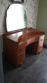 Beautiful drawer and mirror unit ideal restoration project