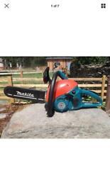 "Makita DCS34 Petrol 2 stroke chain saw chainsaw 13"" inch"