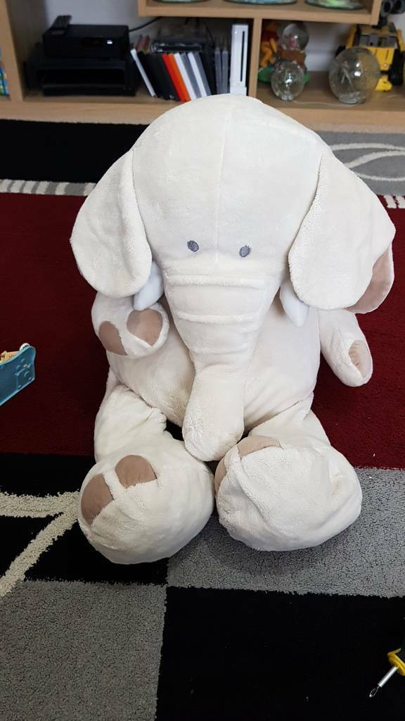 Baby's large elephant Teddy