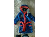 New Thomas the tank hooded dressing gown